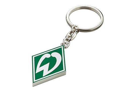 Werder Bremen Unisex– Erwachsene Fanartikel-Schlüsselanhänger Raute, grün, S