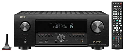 Denon AVR-X4700H (modello 2020) 9.2 Ch. Ricevitore AV 8K con audio 3D, HEOS integrato e controllo vocale