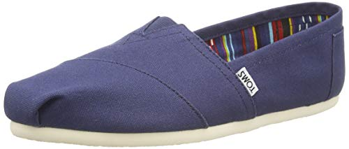 TOMS MEN ALPARGATA Navy Canvas UK7