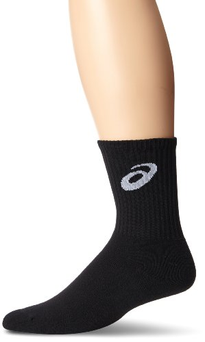 ASICS Team Crew Sock, Black, Small