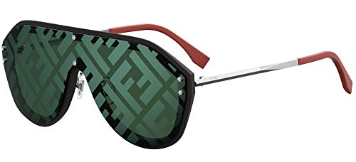 Fendi Fabulous FF M0039/G/S Black/Green 99/1/145 Men Sunglasses