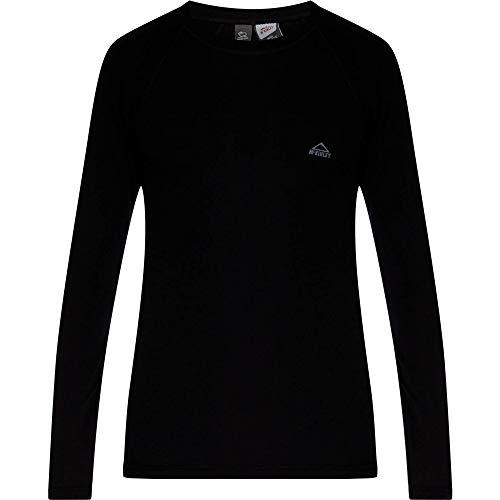 McKINLEY Unter Chemise Riku T-Shirt pour Hommes, Black Night, XXL