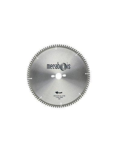 Sidamo - Lame carbure NE3 D. 216 x 3 x 30 mm Z 60 TP Nég. - Alu/Zinc/Cuivre/Nickel/Plastique - 290205 - Sidamo