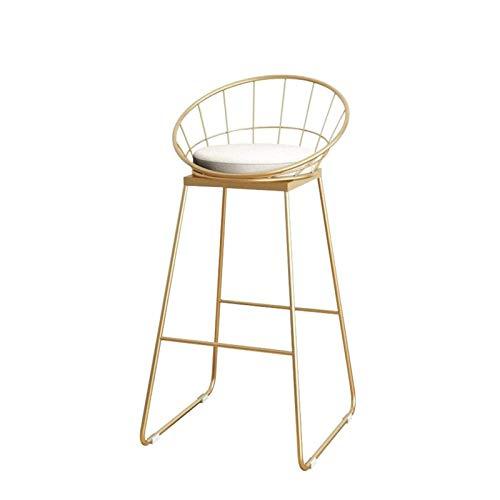 N/Z Living Equipment Barhocker Einfacher Barhocker Metallrahmen Barhocker Fashion Bar Chair (Größe: Groß)