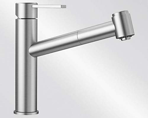 Blanco AMBIS-S 523 119 Kitchen Fitting, Brushed Stainless Steel