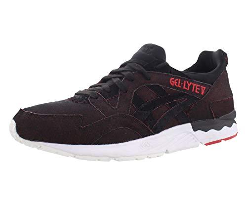ASICS Men's Gel-Lyte V Fashion Sneaker, Black/Black, 4.5 M US