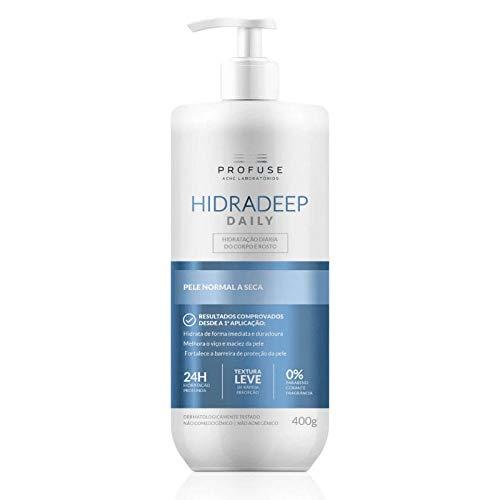 Hidratante Profuse Hidradeep Daily Loção Hidratante Corporal e Facial 400g