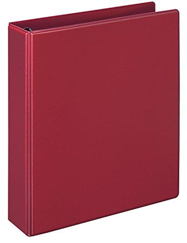 Veloflex 4151020 Ringbuch Comfort A5, Ordner, Ringordner, 194 x 230 x 38, 4-Ring-Mechanik, PVC, rot