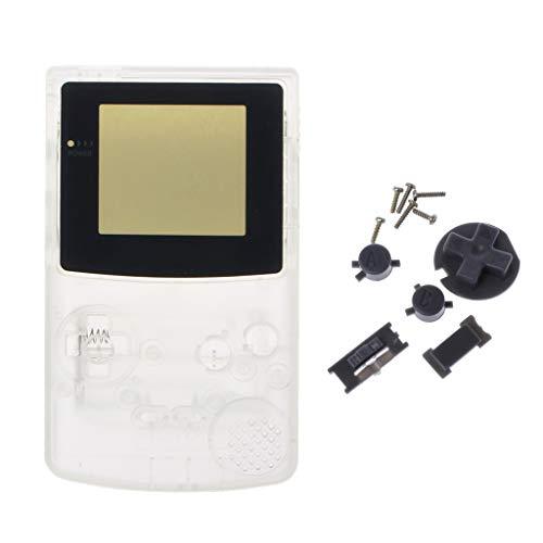 unknow Carcasa completa para Nintendo Game Boy Color GBC Reparación Parte Shell Pack