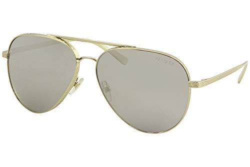 Versace 0VE2217 Sonnenbrille, Pale Gold/Grey, 59/14/140