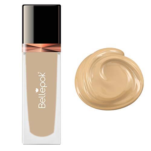 Silk Liquid Foundation N°4 Beige Clair Brosse à Air Maquillage Sans cruauté SPF30 PA +++ 35ml