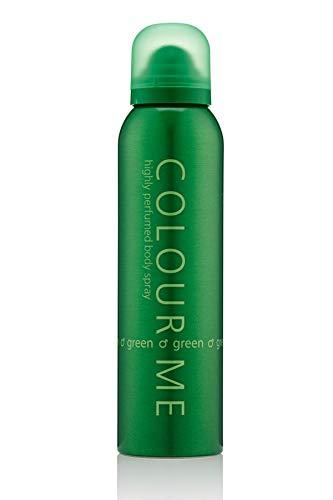 Colour Me Green - Fragrance for Men - 150ml Body Spray, by Milton-Lloyd