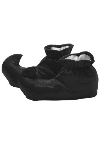 Zapatos de disfraz de Munchkin para adultos Wizard of Oz Lollipop Shoes para adultos - negro - X-Small