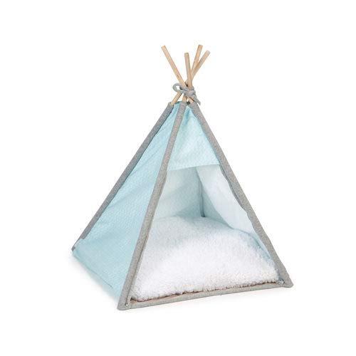 Beeztees Puppy Tipi Tent Aika - Hond - Blauw - 55x55x85 cm