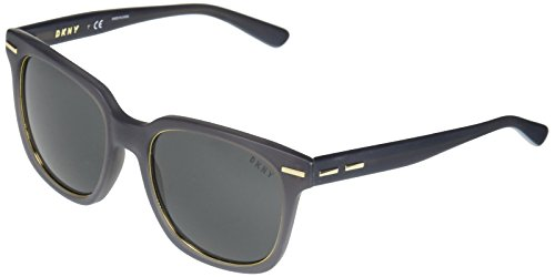 DKNY - Lentes oscuros, 0DY4141, Para mujer, Gris mate, 52 mm