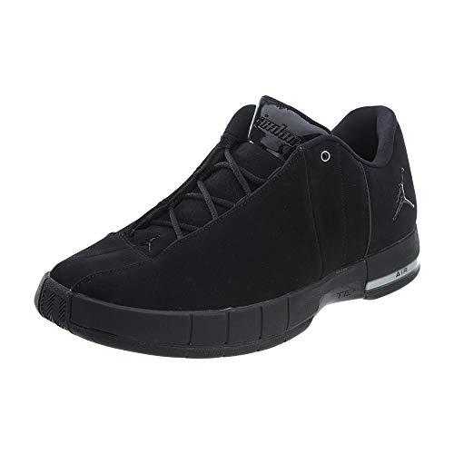 Jordan Nike Men's TE 2 Low Basketball Shoe, Black/Black/Black, 10 M US