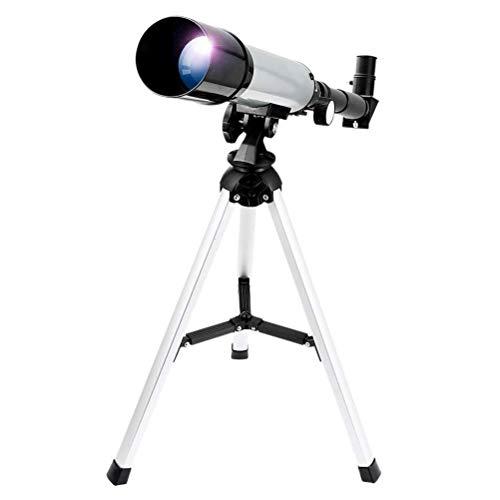 GTUKO Telescopio Astronómico Zoom HD Al Aire Libre Monocular Espacio Telescopio con Trípode,para Astrónomos Y Niños Ideal para Los Principantes