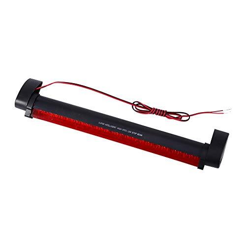 Qiilu Universel 32 LED Rouge Voiture Haute Montée Troisième Arrêt de Frein Feu Arrière Lampe d'Avertissement 12 V