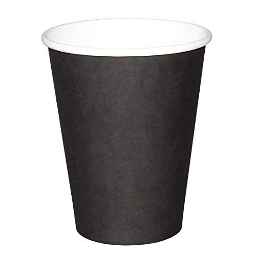 Fiesta gf041negro único de pared Hot vasos (Pack de 50)