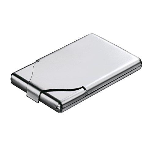 REFLECTS Zigaretten-/ Visitenkartenbox aus Metall TOUGH mattsilber