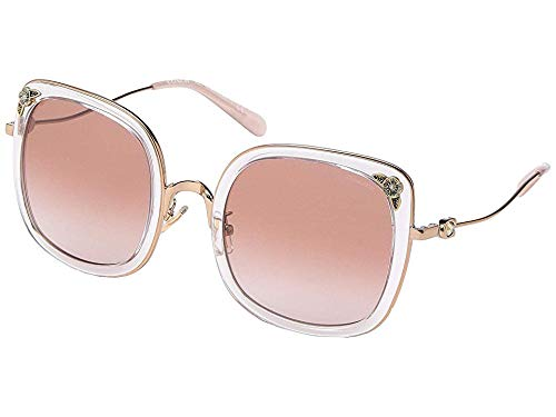 Gafas de Sol Coach HC 7101B Rose Gold Crystal/Pink Shaded 53/23/140 mujer