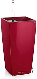 Lechuza 18051 Maxi Cubi Self-Watering Garden Planter, Scarlet Red High Gloss