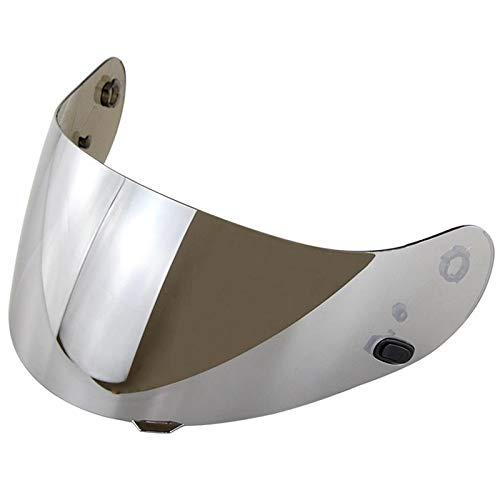 without brand WJW-BAOHUMO, Visera de la Motocicleta FOR HJC-16 CL CL-17 CS-15 CS-R2 CS-15 FG-15 TR-1 Parte de la Lente for CS-R1 Escudo de Piezas de los vidrios de la Moto (Color : Silver)
