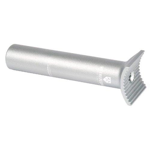 Wethepeople Tige de selle Pivotal en aluminium, 25,4 mm, droit, gris,