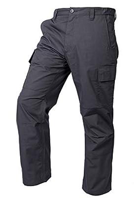 LA Police Gear Mens Core Cargo Lightweight Work Pant - Charcoal - 34 X 32