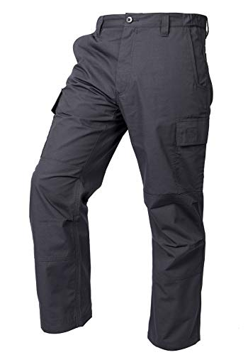 LA Police Gear Mens Core Cargo Lightweight Work Pant - Charcoal - 36 X 30