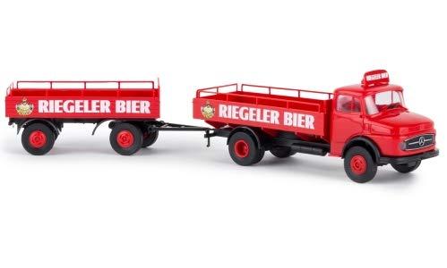 Mercedes L 322, Riegeler Bier, 0, Modellauto, Fertigmodell, Brekina 1:87