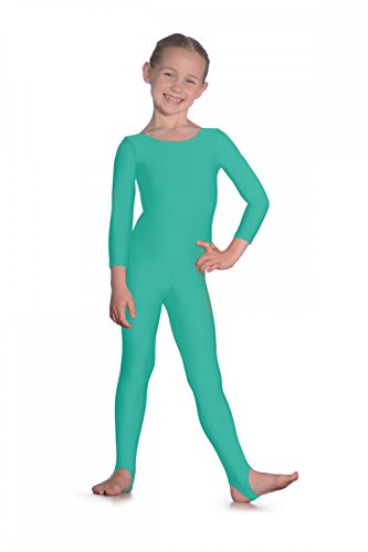 Roch Valley Long Sleeve Nylon/Lycra Catsuit 9-10 Jahre Grün