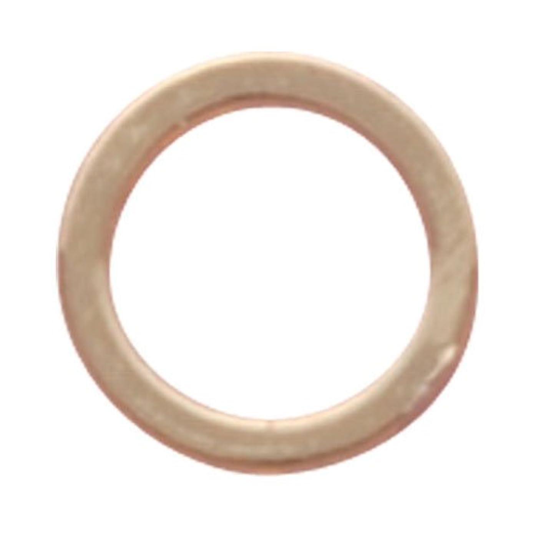 もちろん傾向酸化するリトルプリティー ネイルアートパーツ フラットリング ゴールド 20個 LP-0095G