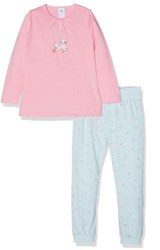 Sanetta Sanetta Baby-Mädchen Pyjama Long Zweiteiliger Schlafanzug, Rosa (scampi 3950), 74