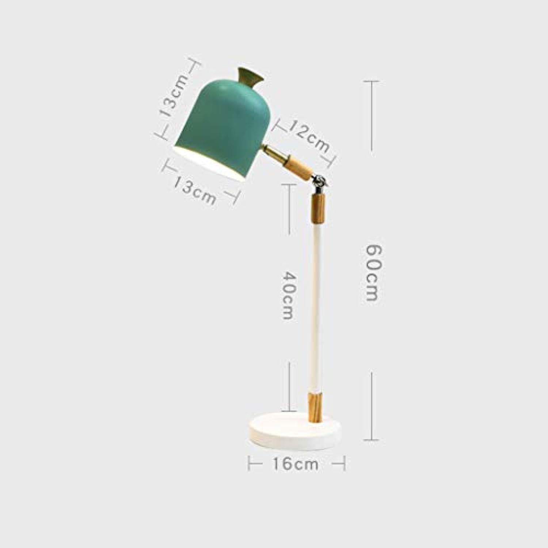 Moderne minimalistische kreative Persnlichkeit Dekoration der nordischen Artlampe Wohnzimmerschlafzimmerstudiennachttischlampe Stehlampe (Farbe   Grün)