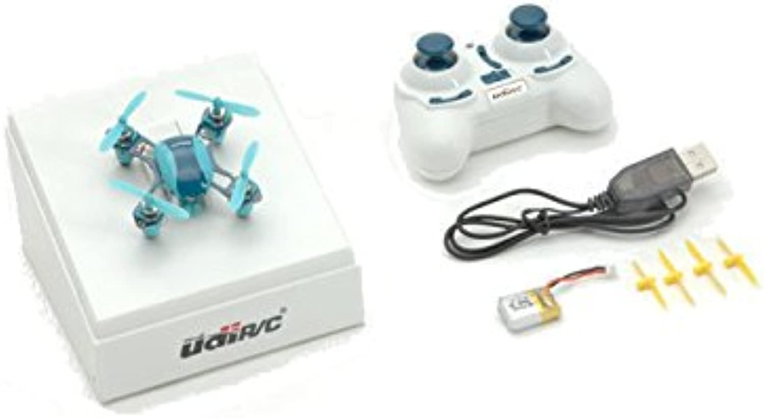 Udi Mini Nano Quad Electric Micro Quadcopter Six-axis Blau A-U840