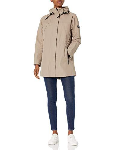 Calvin Klein Damen Womens Lightweight with Hood Anorak, Rxb, Small