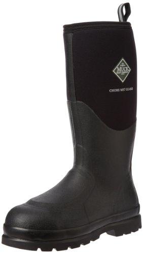 Muck Chore Classic Tall Steel Toe Men's Rubber Work Boots w/ Metatarsal Guard