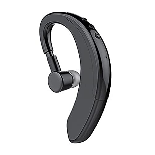 Auriculares inalámbricos con Bluetooth 5,0, Gancho Giratorio para la Oreja de 360 Grados, cancelación de Ruido, Auriculares de música con Sonido estéreo 9D para iOS, Android