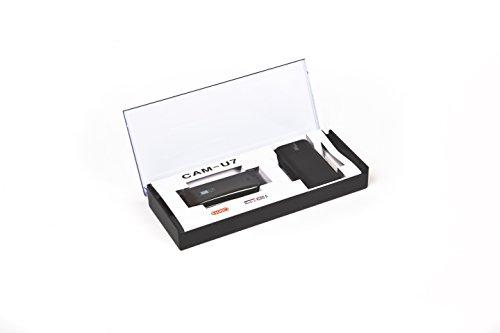 Grabador de vídeo en miniatura / Esonic CAM-U7 / detección de movimiento / tiempo de funcionamiento prolongado / formato AVI.