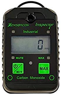 Sensorcon Industrial CO Carbon Monoxide Monitor with Visual, Audible and Vibrating Alerts, Waterproof