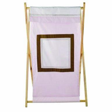 Bacati - Metro Pink/White/Chocolate Hamper