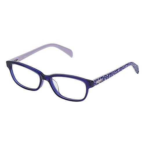 TOUS S0350811 Marcos para Gafas recetadas, Azul, 49 mm Unisex niños
