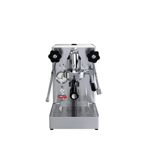 Lelit PL62X MaraX, Macchina da caffè Professionale con Gruppo Tipo E61, 1400 W, 1.8 Litri, Acciaio Inossidabile, Argento