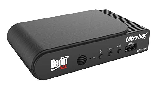 Bedin Sat 0050209008 Receptor Digital Ultra Box, Preto