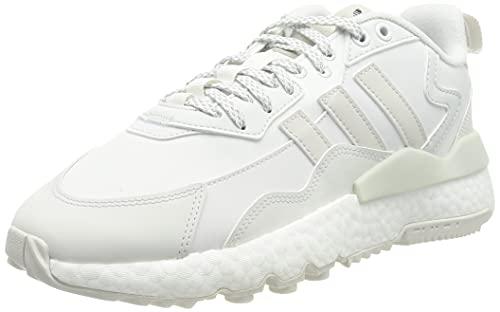 adidas Nite Jogger Winterized, Zapatillas Deportivas Hombre, Crystal White FTWR White Core Black, 46 2/3 EU