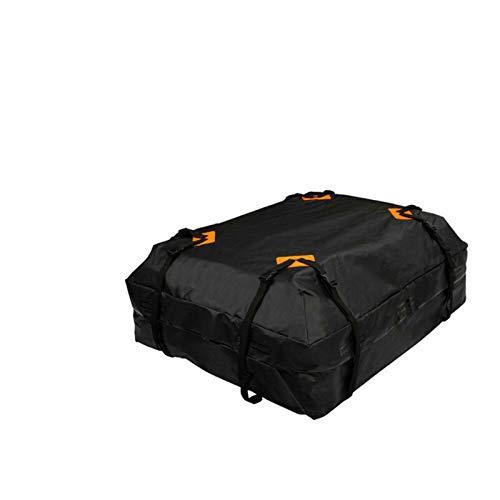 ADFIOADFH 112x84x44 cm Impermeabile Auto Tetto Top Rack Portatore Cargo Borsa Bagagli deposito Bagagli cubo Sacchetto di cubo Viaggio SUV (Color : Black)