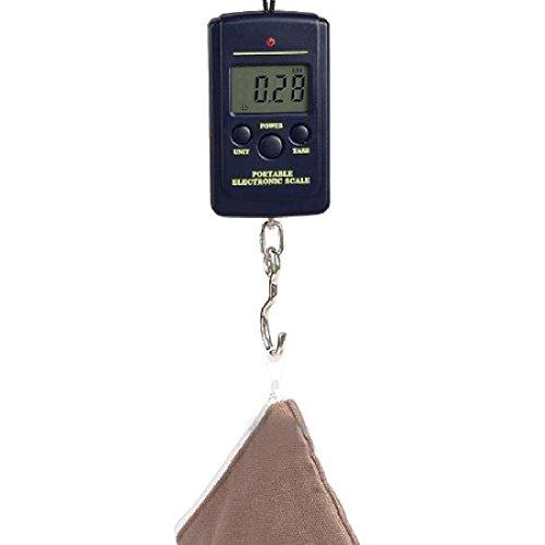 Luwu-Store 10g-40Kg Multi-Usage Digital Hanging Bagage Pesage Poids Échelle électronique Pocket Mini Protable Fish Scales