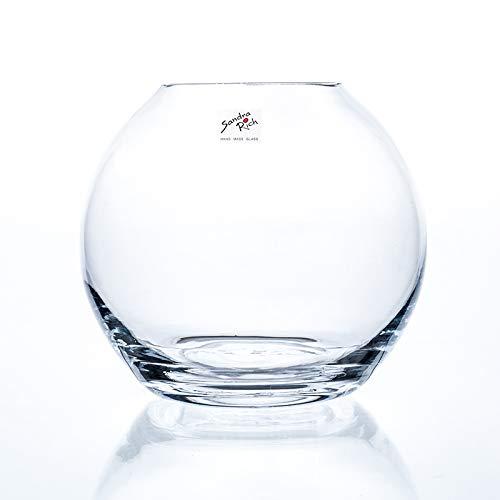 Sandra Rich Glaskugel, Kugelvase Globe H. 17cm D. 19cm Glas transparent