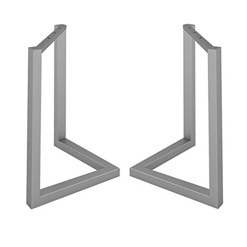 V-Shaped Leg Metal, Seamlessly Welded, Easy to Install with Screws, Send Anti-Scratch Pad, Suitable for Dining Table, Conference Table, Desk, 1 Pack 2